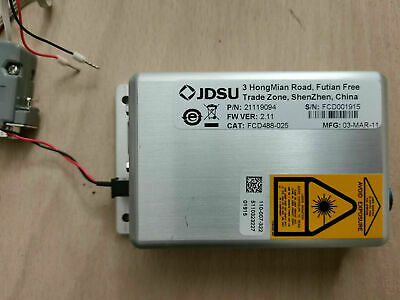 JDSU FCD488 CW 488nm 25mW Frequency Doubled Solid State Laser