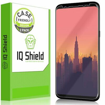 Samsung Galaxy S8 Plus Screen Protector Slim HD Clear Full Coverage Film 2 PACK