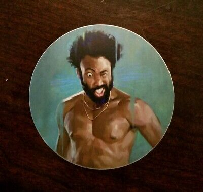 This Is America/Childish Gambino Vinyl Sticker Decal for laptop car hip hop rap