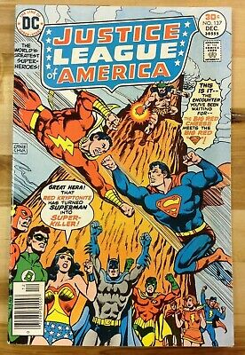 Justice League of America #137 (1976) DC Comics