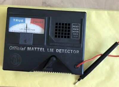 Lie Detector Game Vintage 1960s Replacement Part Detector Only