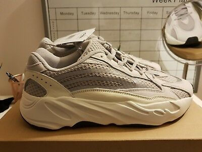 timeless design f70d6 6dbb2 Adidas Yeezy 700 Boost V2 Static UK 10.5 US 11 100% AUTHENTIC With RECIEPT