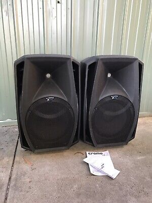 DB Cromo 12+ Active Powered PA DJ Speaker Pair 1200w RMS