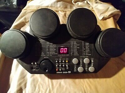 YAMAHA DD-9 DIGITAL Percussion Electronic Drum Sounds Effects Kit TESTED