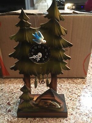 Vintage Novelty Cuckoo Style Clock, Works Great