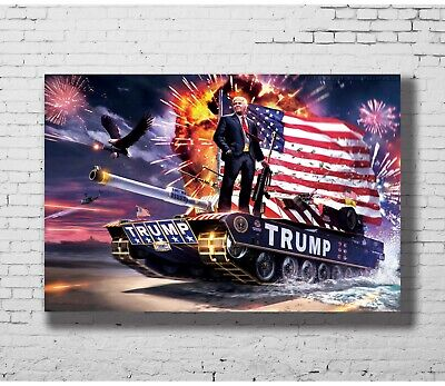 W130 Hot Donald Trump Game of Thrones Sanctions Are Coming Poster Art Decor