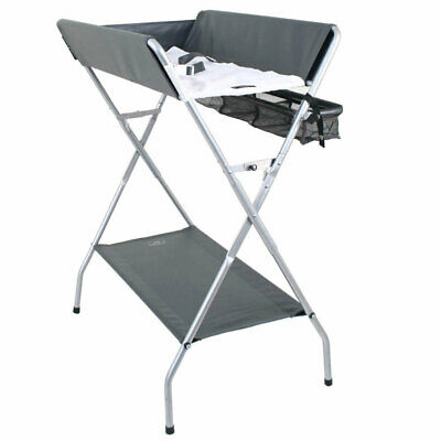 Valco Baby Pax Plus Change Table/Changing Bench for Newborn/Infant Nursery Grey