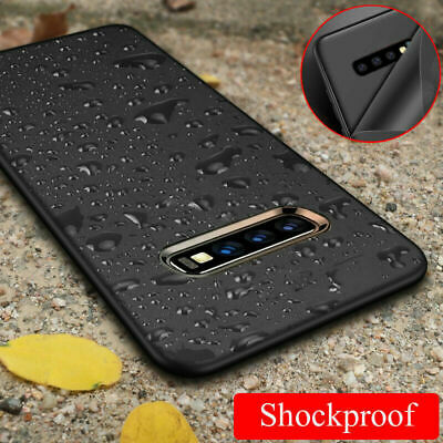 For Samsung Galaxy S10 Plus S10E Shockproof Slim Silicone Soft TPU Case Cover