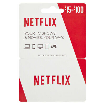 $15 Netflix Gift Card | US ONLY! | Limited Quantity