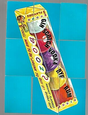 1974 Topps Wacky Packages Original 7th Series 7 Complete Puzzle Boozo