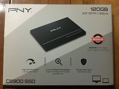 "Pny Cs900 120Gb Ssd, 2.5"", Sata Iii (Ssd7Cs900-120-Rb)"