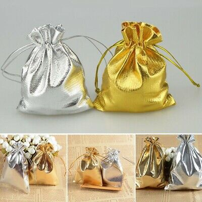 40pcs Luxury Organza Sweet Candy Gift Bags Wedding Party Favour Jewelry Pouches