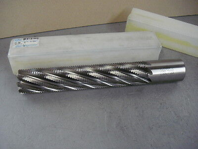 """Greenfield Industries 97091 Cobalt 8 Flute Roughing Square End Mill Putnam 2"""""""