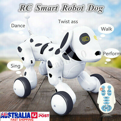 RC Smart Dog Remote Control Robot Interactive Electronic Pet Talking Toy Gift AU
