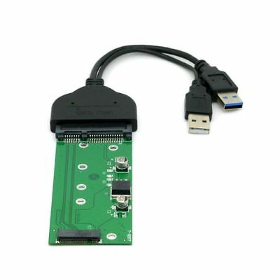 "SATA 2.5"" Hard Disk to USB 3.0 to M.2 NGFF PCI-E 2 Lane SSD for E431 E531 X240"