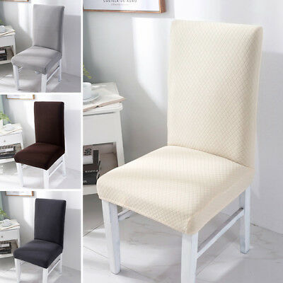 Dining Chair Covers Stretch Spandex Wedding Banquet Party Home Seat Covers UK