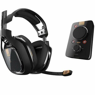 Astro A40 TR Wired Gaming Headset System with MixAmp Pro Black - PS4 PC *Genuine