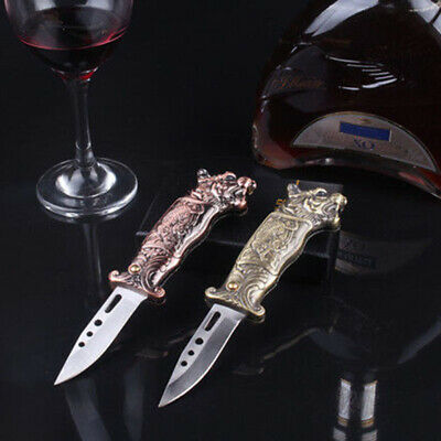 Tiger Windproof Folding Refillable Butane Gas Jet Flame Cigar Cigarette Lighter