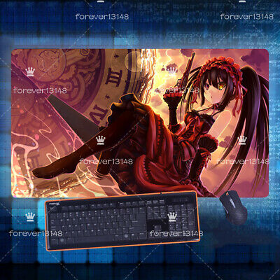 Date a Live Tokisaki Kurumi Anime Game Mouse Pad Profession PC game Large Mat