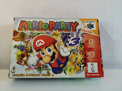 Mario Party- No Game -Box And Insert Only!!!!!!!!!- No Game-N64 Nintendo 64-Pal