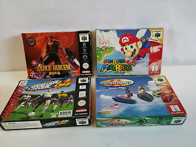 Bulk Lot Of Empty Boxes -No Game -Box And Inserts Only-N64 Nintendo 64-Pal