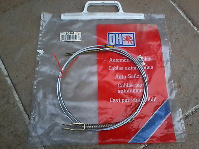 Austin Mini / Cooper / Riley Elf / Wolseley Hornet Rear Brake Cable Bc407