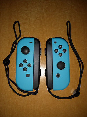 Nintendo Switch JoyCon Controllers Blue L and Blue R - Brand New Condition.