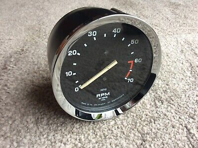 SMITHS 4 Cylinder  Electronic Revcounter.  Reconditioned  TRIUMPH , KIT CAR