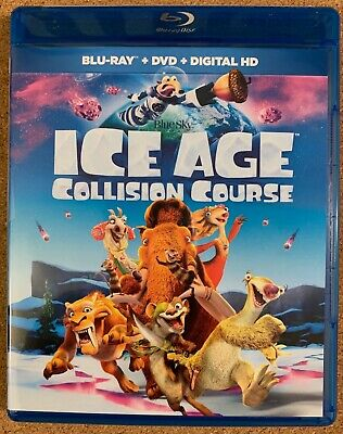 Ice Age Collision Course Blu Ray 1 Disc Only Free World Wide Shipping Buy It Now