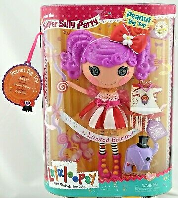 Lala loopsy Peanut Big Top Doll Girls Toy Limited Edition Doll Rare Discontinued