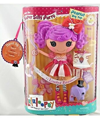 Lalaloopsy Mittens Peanut Big Top Doll Girls Toy Cristmas Gift Limited Edition