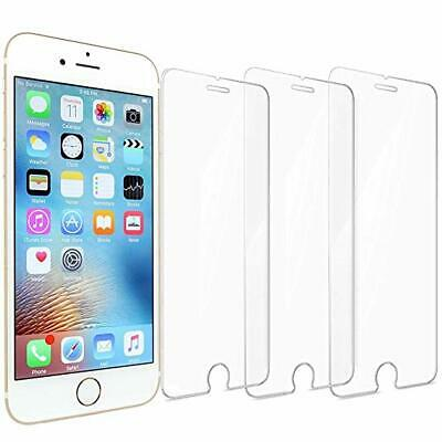 Pack of 3  Screen Protector For Apple iPhone 6 7 8 - Tempered Glass 100% Genuine