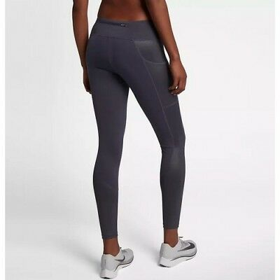 b4fbc24cb6ca0 Nike Women's Power Racer Running Tights, Full Length Size XS High Shine  Sections
