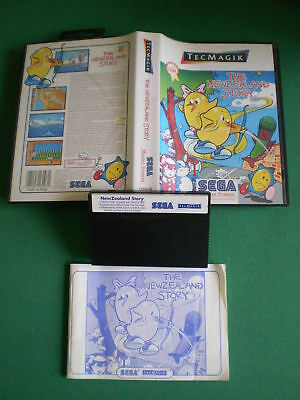 Sega Master System THE NEWZEALAND STORY Complet Boxed Manual PAL