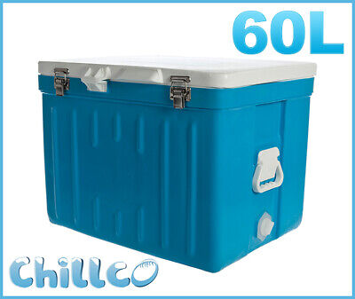 60L Chillco Ice Box Cooler Esky Chilly Bin Superior Ice Retention-Rrp $350
