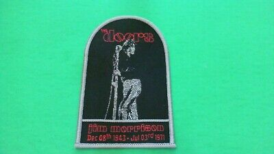 Jim Morrison The Doors Iron On Patch! New