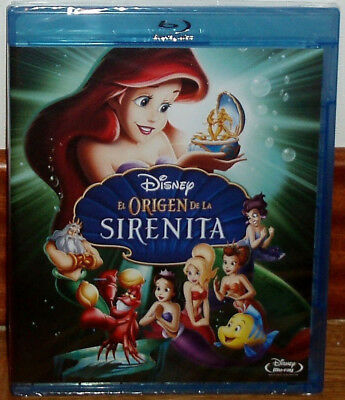 The Origin Of Little Mermaid 3 Disney Blu-Ray New Sealed Animation (Unopened)