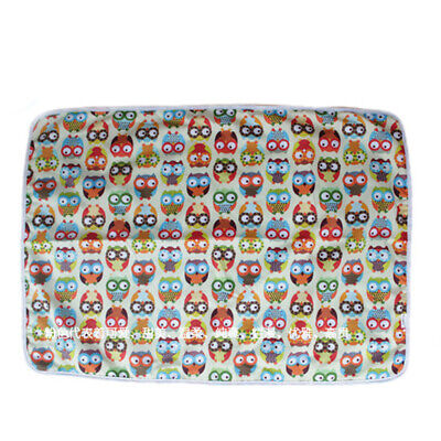 Baby Cotton Soft Waterproof Crib Changing Mat Reusable Nappy Diaper Pad  #2
