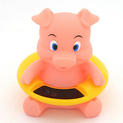 Cartoon Baby Infant Safety Bathing Water Meter Lovely Kids Bath Toy Cute Shower