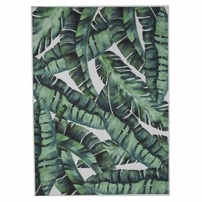 NEW Second Nature Lush Tropics Framed Wall Art