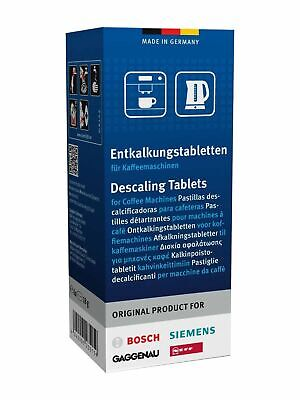 6 x BOSCH 311864 Tassimo DESCALER/DESCALING Tablets Siemens Neff Coffee Machine