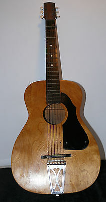1900'S Maple Acoustic Parlor Guitar