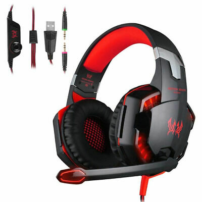 EACH G2000 3.5MM LED Surround Gaming Headset PC/PS4 Spiel Kopfhörer Headset DHL