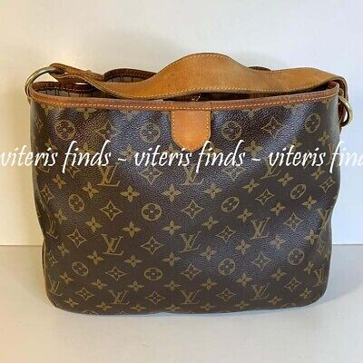 119f4cfec86 AUTHENTIC LOUIS VUITTON Delightful PM Monogram Canvas Hobo Bag