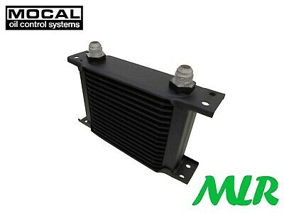 Mocal 19 Row 115Mm Universal Engine Oil Cooler -8 Jic Oc1197-8 Bsm