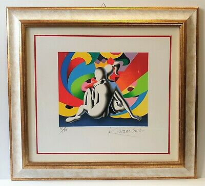 "MARK KOSTABI - Serigrafia - "" Emotion Vortex """