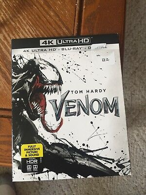 Brand NEW venom 4k Ultra HD blu ray with Digital Copy