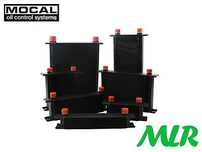 Mocal 25 Row Universal Heavy Duty Oil Cooler M22X1.5 Fittings Oc1252-105Hd Adl