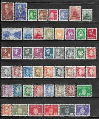 Norway Collection Old Stamps