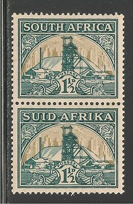 South Africa #51 (A15) VF MNH - 1936 1 1/2p Gold Mine